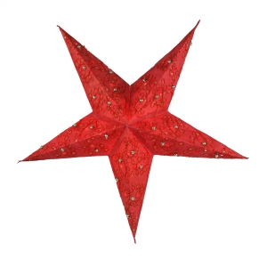 Foldable Advent Paper Star, Christmas Star Plato