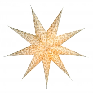Foldable Advent Paper Star, Christmas Star Canopus
