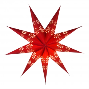 Foldable Advent Paper Star, Christmas Star Phoenix