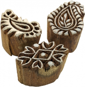 Indian Wooden Stamp Set 12