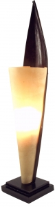 Palm leaf table lamp/table lamp Las Palmas - in Bali handmade fro..