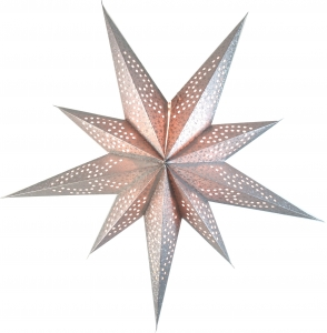 Foldable Advent Paper Star, Poinsettia Soma