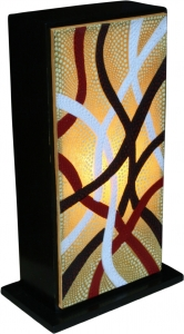 Table lamp/table lamp Tasmania - 3 - in Bali handmade exotic mood..
