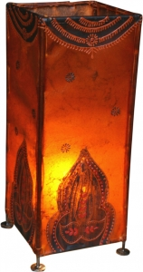 Henna - Leather table lamp / table lamp Pushkar