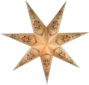 Foldable Advent Paper Star, Christmas Star Minea