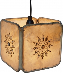 Henna - Leather ceiling lamp / pendant Karachi