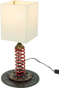 Table Lamp/Table Lamp Motola, Industrial Style, Upcycling Scrap M..
