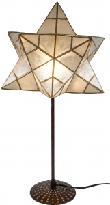 Table lamp Kokopelli Star H1251