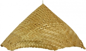 Ceiling Lamp/Ceiling Lamp, Rice Field - in Bali handmade from nat..