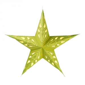 Foldable Advent Paper Star, Christmas Star Durian