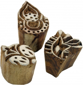 Indian Wooden Stamp Set 13