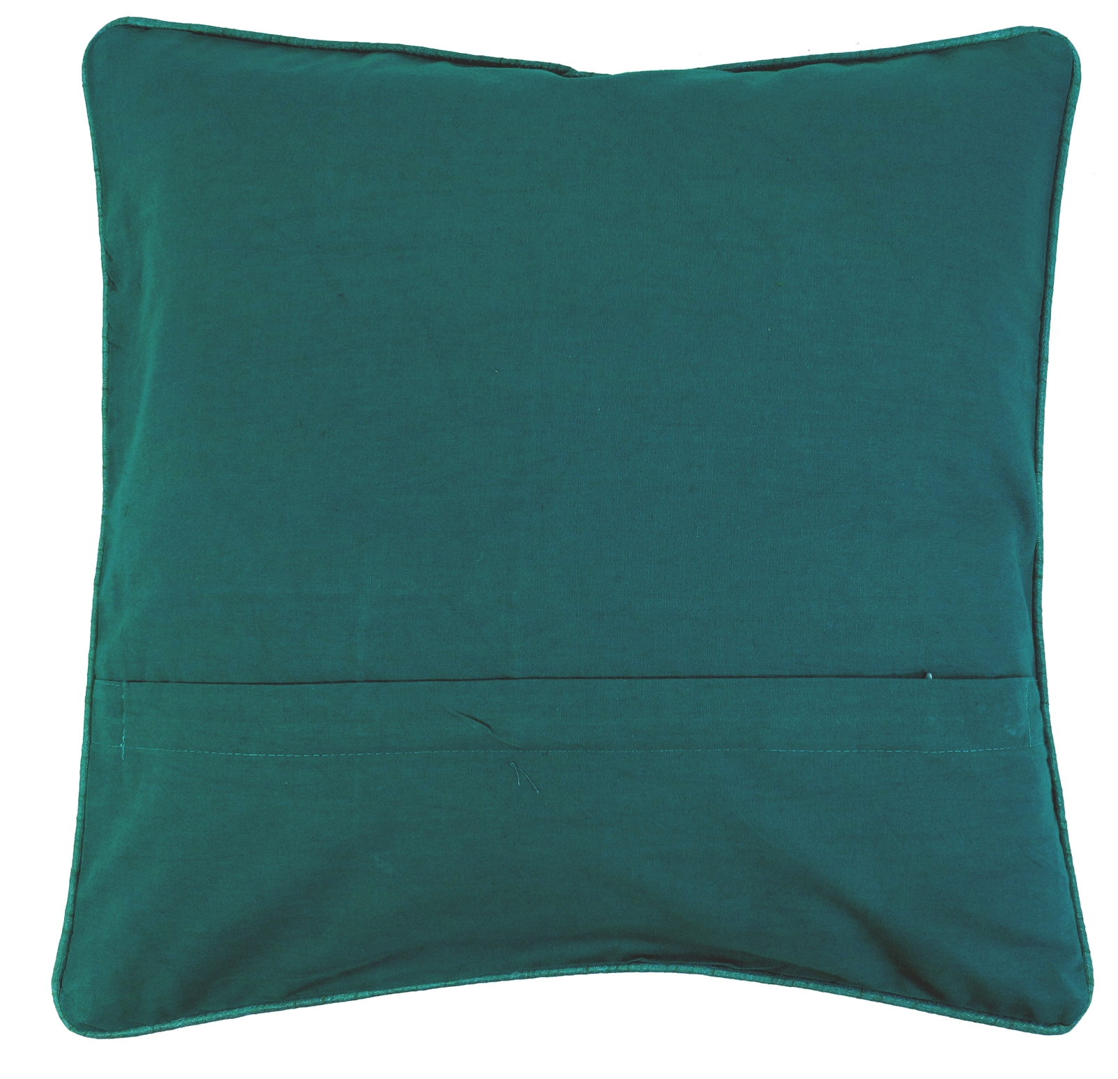 orientalische kissenh lle kissenbezug saree patchwork t rkis 40x40x0 5 cm. Black Bedroom Furniture Sets. Home Design Ideas