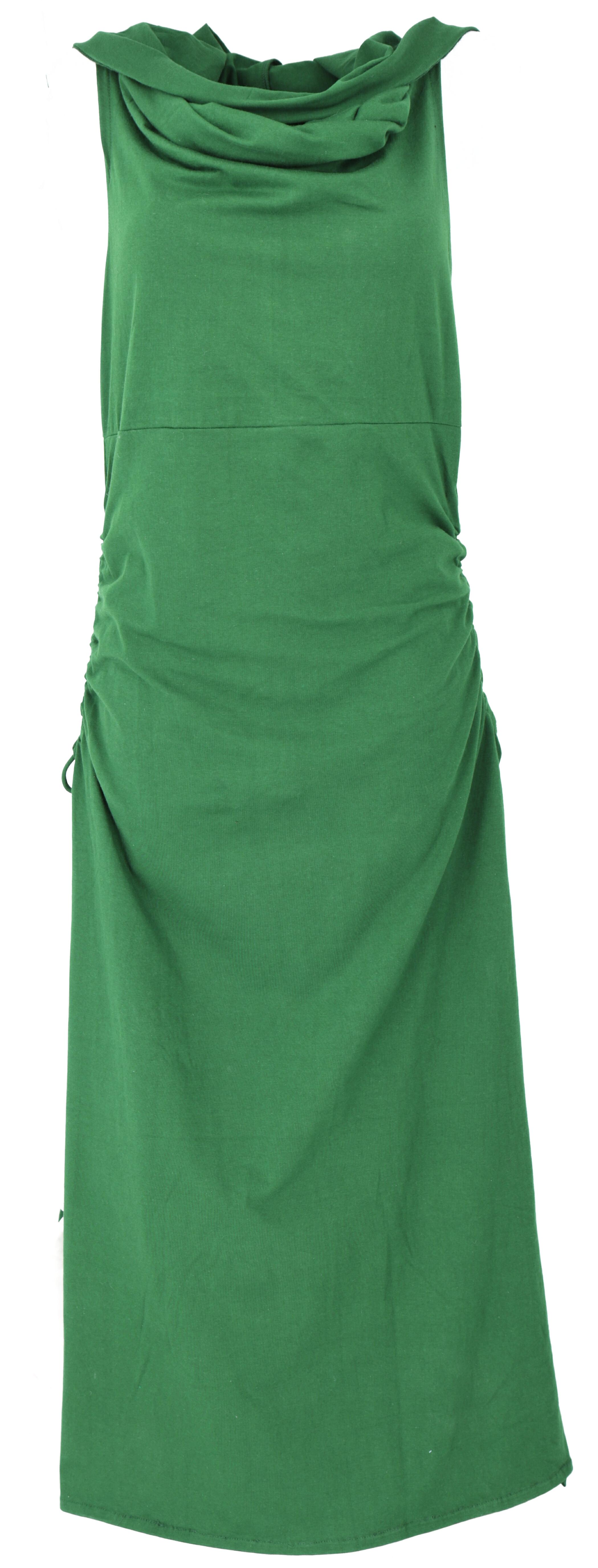Wandelbares Goa Kleid, Psytrance Festival Kleid - smaragdgrün
