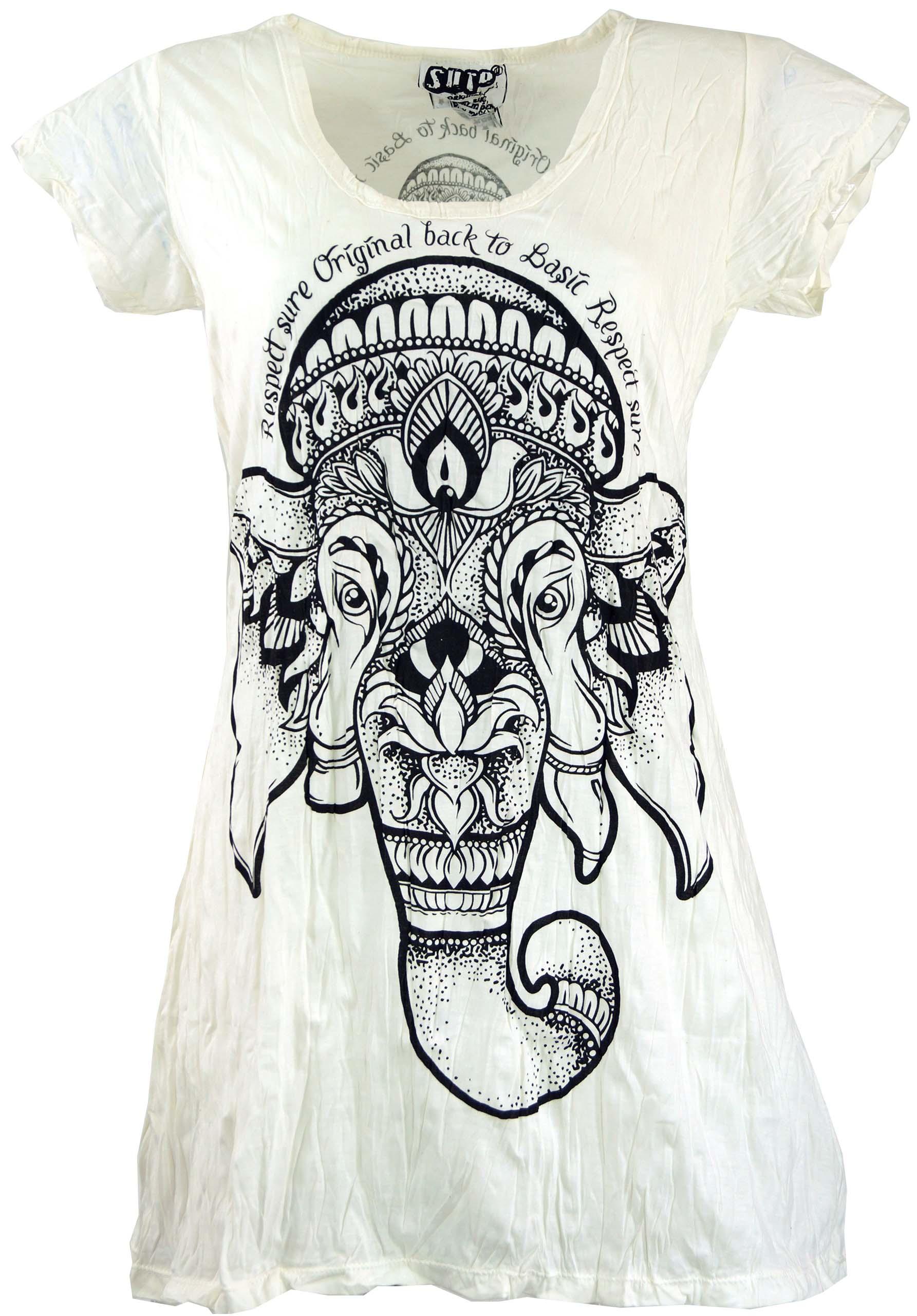 lemon Sure Long Shirt Minikleid Ganesha