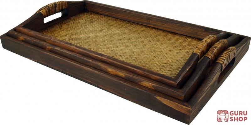 Tablett Holz Great Tablett Holz Reckig Xcm With Tablett Holz