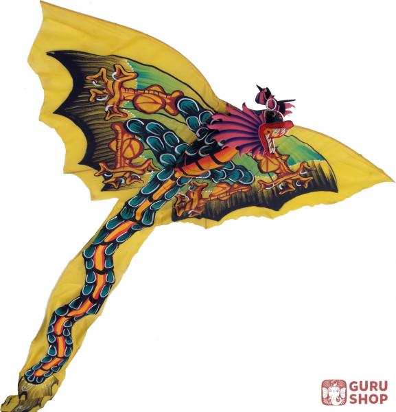 Drachen Flugdrachen Zimmerdeko Bali Drachen 50x100 Cm