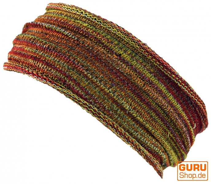 9df955c755f9e1 Magic Hairband, Dread Wrap, Schlauchschal, Stirnband - Haarband rot/gelb