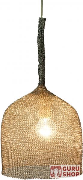 Deckenlampe / Deckenleuchte, Drahtleuchte lron Hat - handgefertigte ...