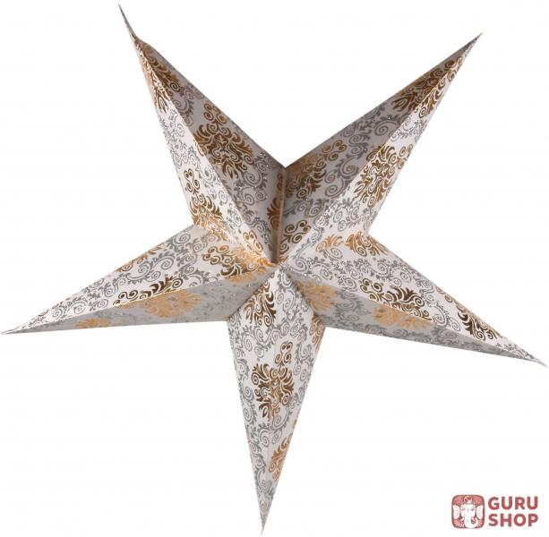 faltbarer advents leucht papierstern weihnachtsstern antaris nature 60x60x20 cm 60 cm. Black Bedroom Furniture Sets. Home Design Ideas