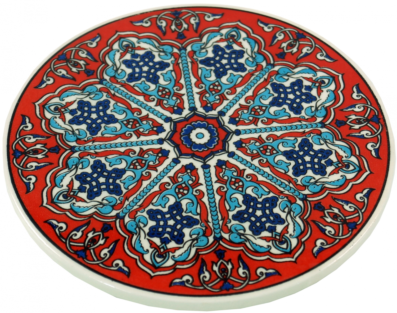 Guru Shop De keramikuntersetzer orient set 1 cmø 8 cm guru shop schönes aus