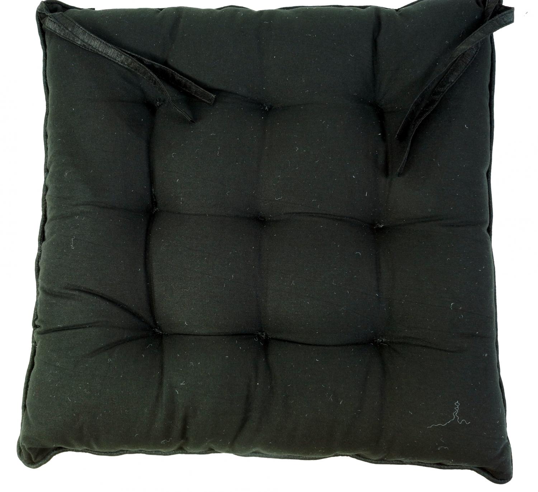 orientalisches brokat steppkissen stuhlkissen 40 40 cm schwarz 5x40x40 cm. Black Bedroom Furniture Sets. Home Design Ideas