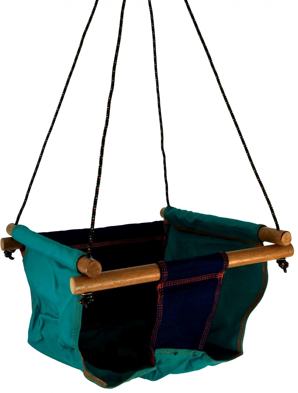 baby und kleinkind h ngesitz sitzschaukel blau 100x40x40 cm 40 cm. Black Bedroom Furniture Sets. Home Design Ideas