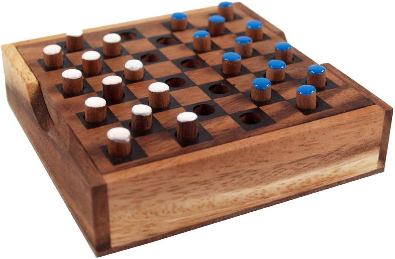 Brettspiele Aus Holz : brettspiel gesellschaftsspiel aus holz checkers ~ A.2002-acura-tl-radio.info Haus und Dekorationen