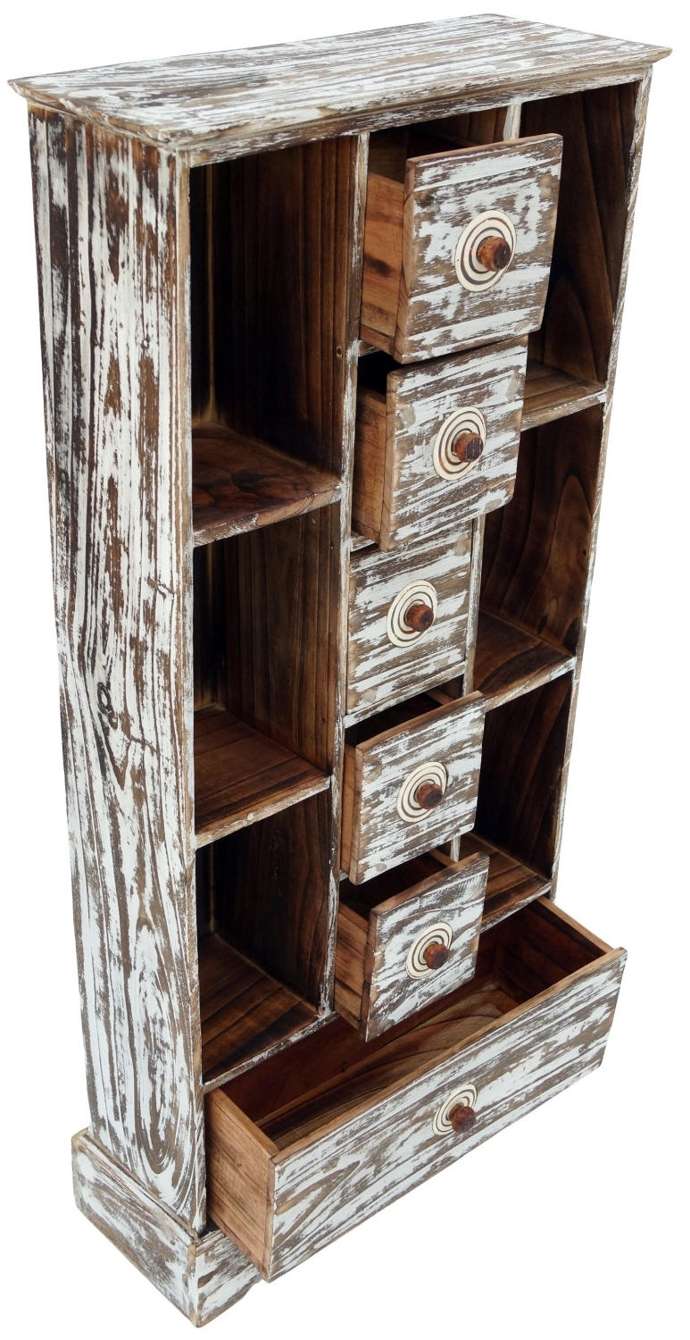 Drawer Cd Cabinet Model 7 100x45x18 Cm