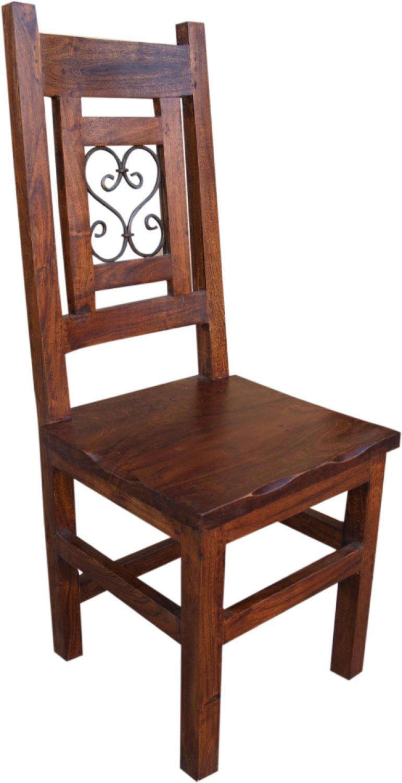 stuhl im kolonialstil r628 modell 12 110x43x43 cm. Black Bedroom Furniture Sets. Home Design Ideas