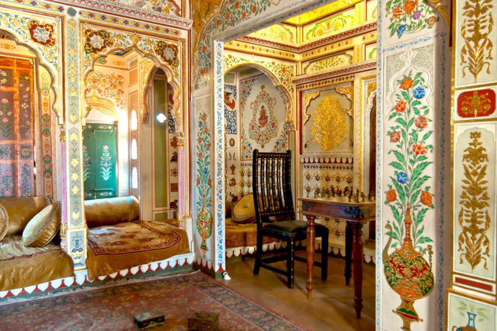 Leben wie die Maharadschas: der Indien Wohnstil