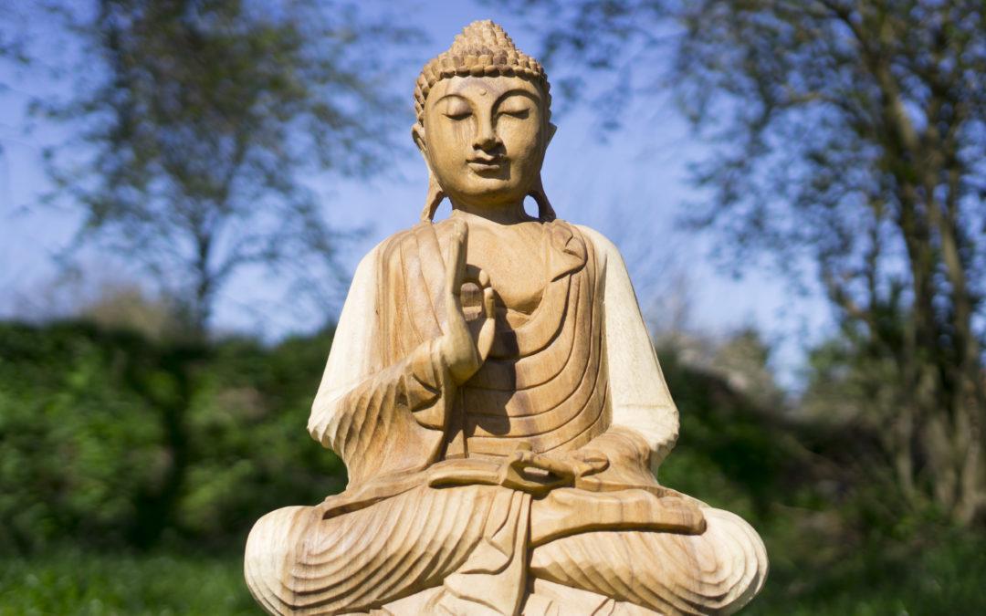 Mudra: die Handgeste des Buddha